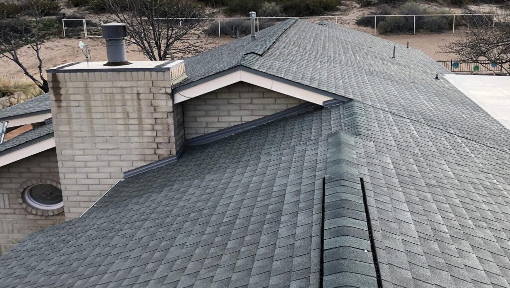 A home's roof